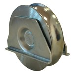 u groove sliding wheel with weld support