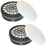 replacement face mask filters  mod. 755.