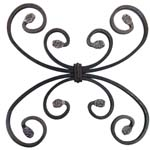wrought iron rosettes ref. 071.01