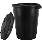 rubber dustbin with lid