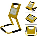 1200 lumen foldable and rechargeable led floodlight