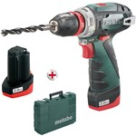 metabo 10.8 volt cordless drill/screwdriver powermaxx bs quick basic
