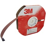 sandpaper roll with flexible fabric base (j) and aluminium oxide mineral