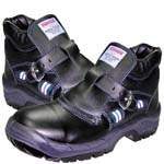 panter safety boots with buckle  mod. fragua hebilla plus s3 black