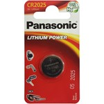 button cell panasonic cr2025 of 3 v.