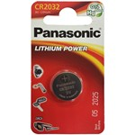 button cell panasonic cr2032 of 3 v.