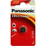 button cell panasonic lr44 of 1,5 v.