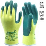 polyester gloves and hagane fibre nitrile coated mod. s-tex gp-2