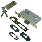 mortise lock tesa 2030 with cylinder
