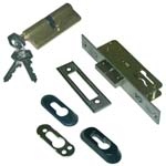 mortise lock tesa 2211 with cylinder