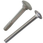 stainless steel metric carriage bolt din-603.