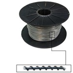 steel wire for lead security seal