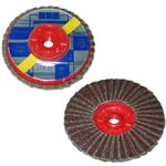 abrasive flap discs with m-14 threaded bore