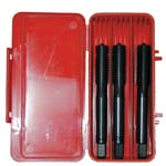 hand taps tool, metric thread din 352, 3 pieces ref. e102