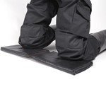 The WELD cushion is adequate for welding work in positions where the knees, ellbows or any part of the body must be supported on a hard surface. It supports high temperatures (250ºC - 300ºC), and is resistant to water, oils and greases. Easy to clean with a damp cloth. Does not deform through concstant support. Does not require any exhaustive maintainance or care. Comes with an elastic support band when folded for transport or storage